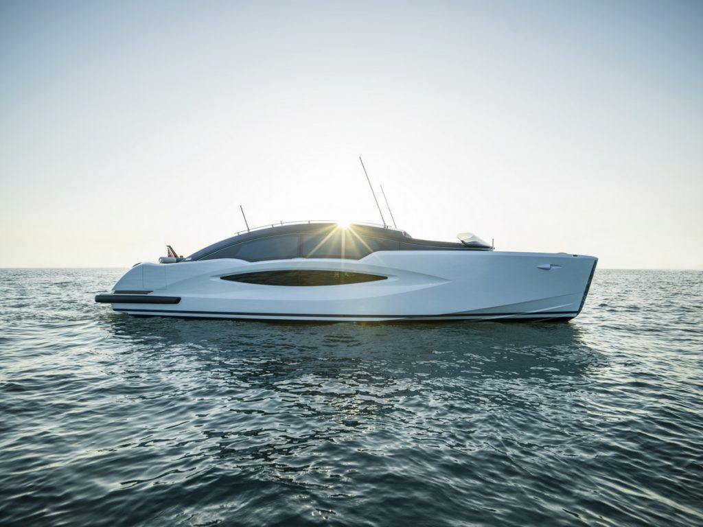 Compass Tenders 11m limo tender