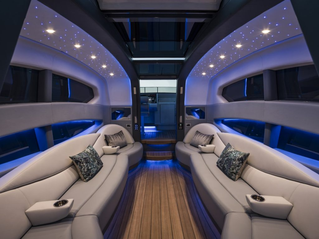 Compass Tenders inside 11m limo tender