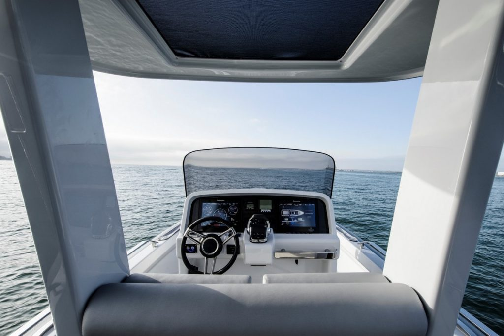 Compass Tenders 8m view from the back