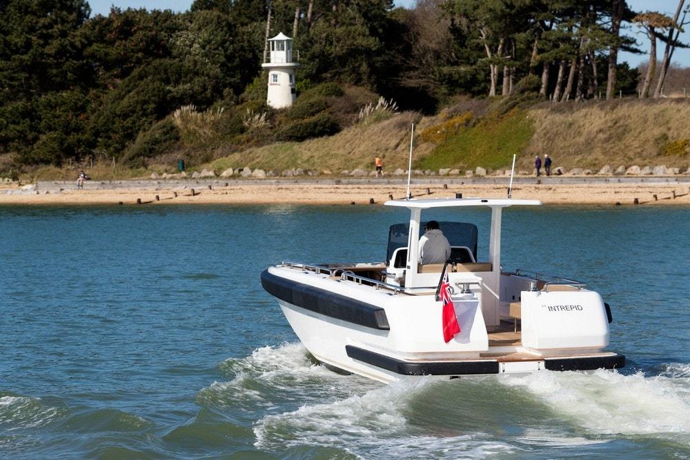 Compass Tenders Intrepid superyacht