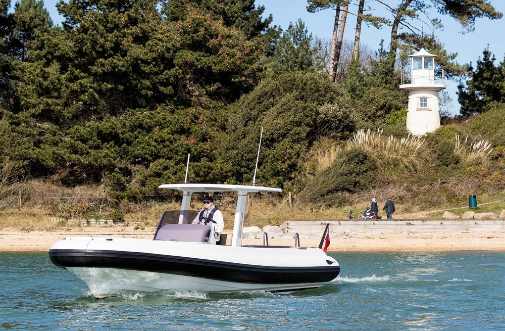 Compass Tenders by the coast