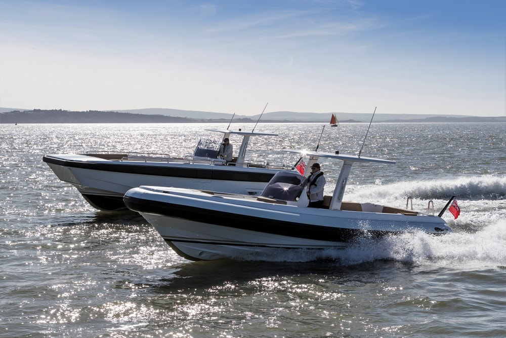 Two Compass Tenders exterior design