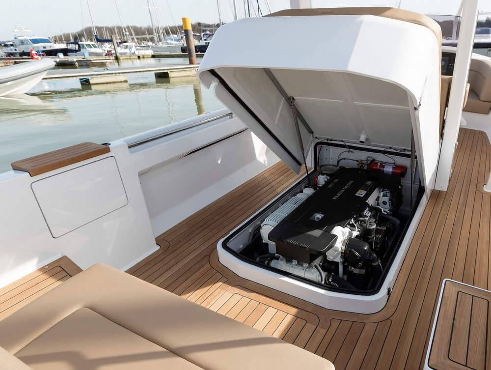 Compass Tenders yacht engine