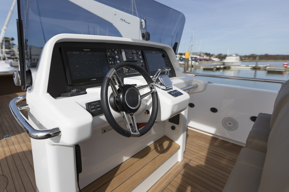 Compass Tenders helm console
