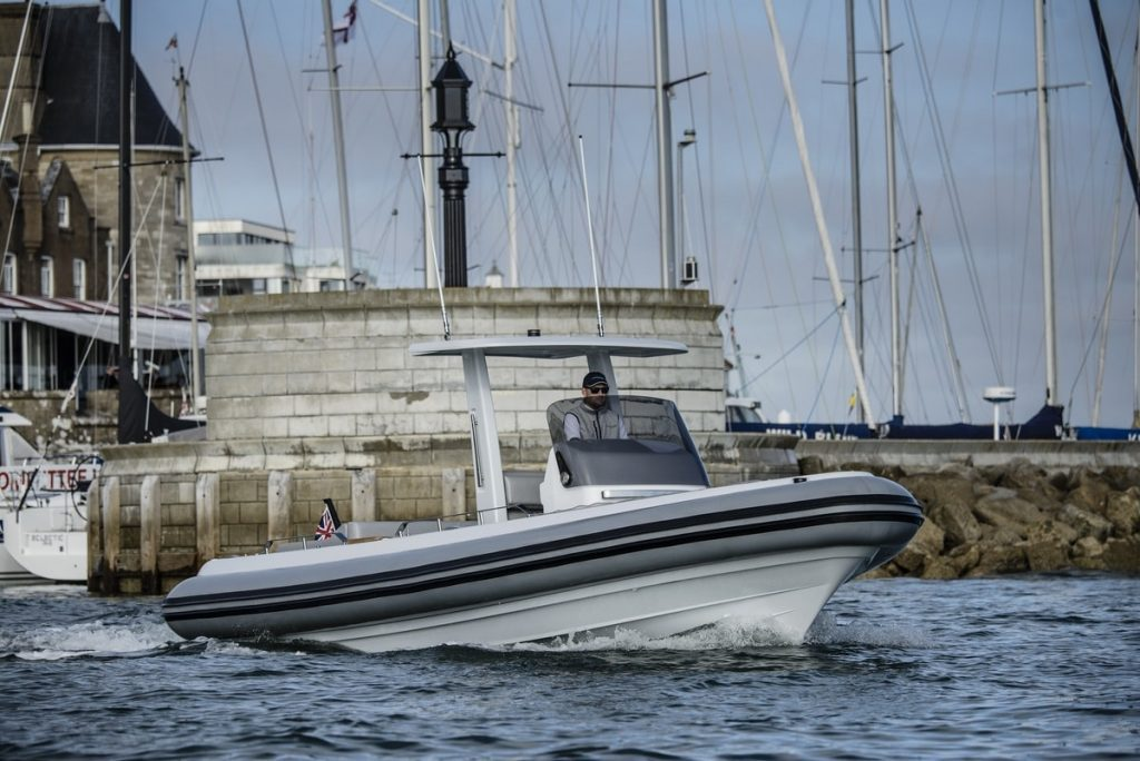 Compass Tenders drib front at Cowes Royal Yacht Squadron