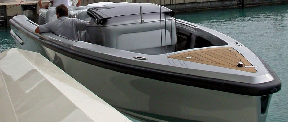 Compass Tenders limo tender for Lurssen