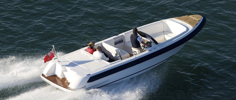 Compass Tenders riding in a tender