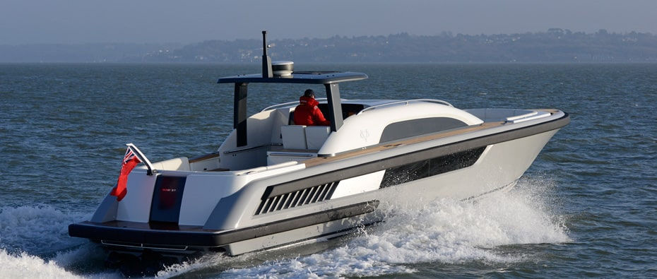 Compass Tenders open tender on the water