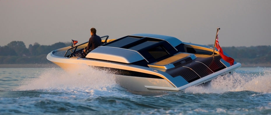 Compass Tenders limo tender side and rear