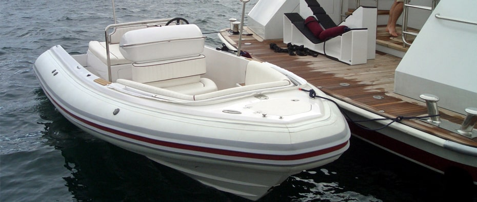 Compass Tenders by yacht