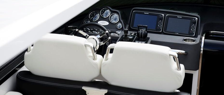 Compass Tenders custom yacht controls