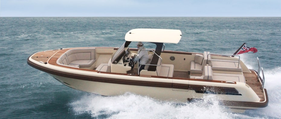 Compass Tenders 9m chase tender with leather seats