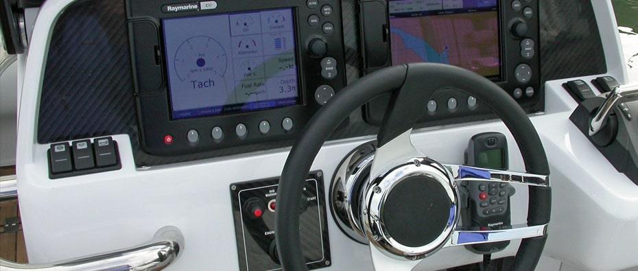 Compass Tenders drib controls