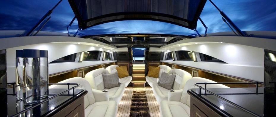 Compass Tenders inside limousine tender
