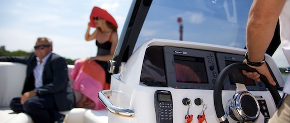 Compass Tenders helm controls