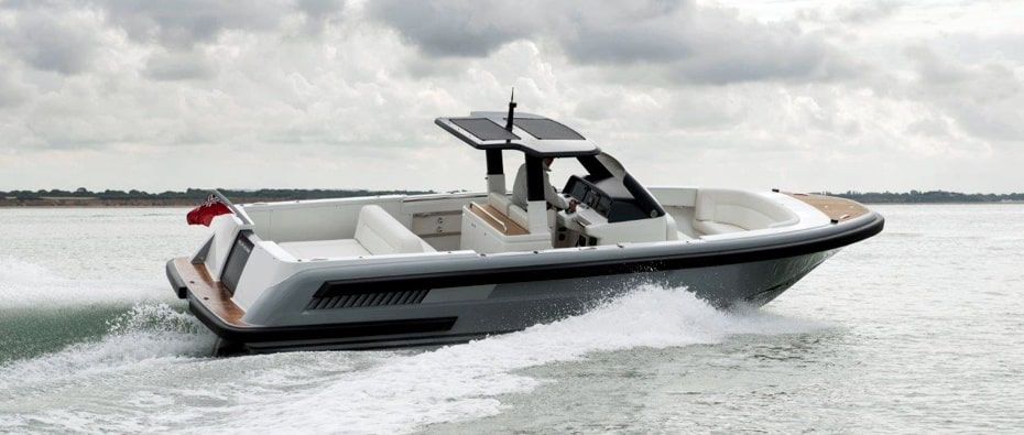 Compass Tenders limousine support boat