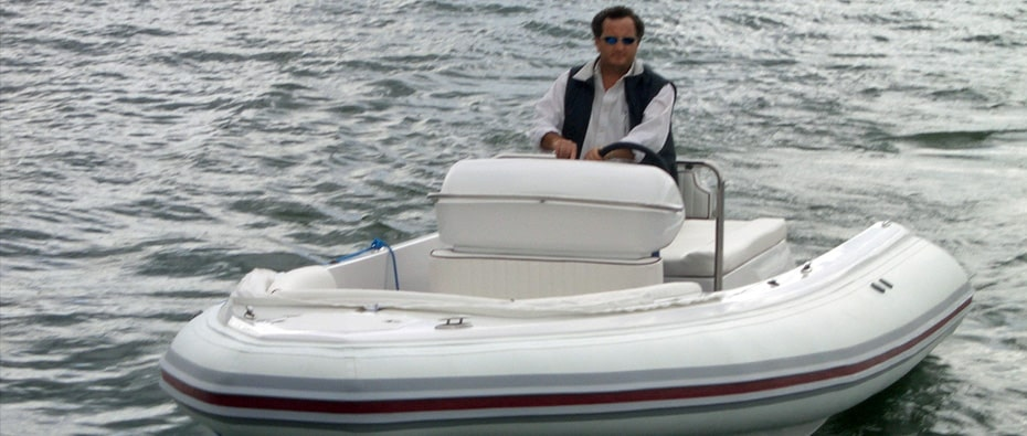 Compass Tenders on the water