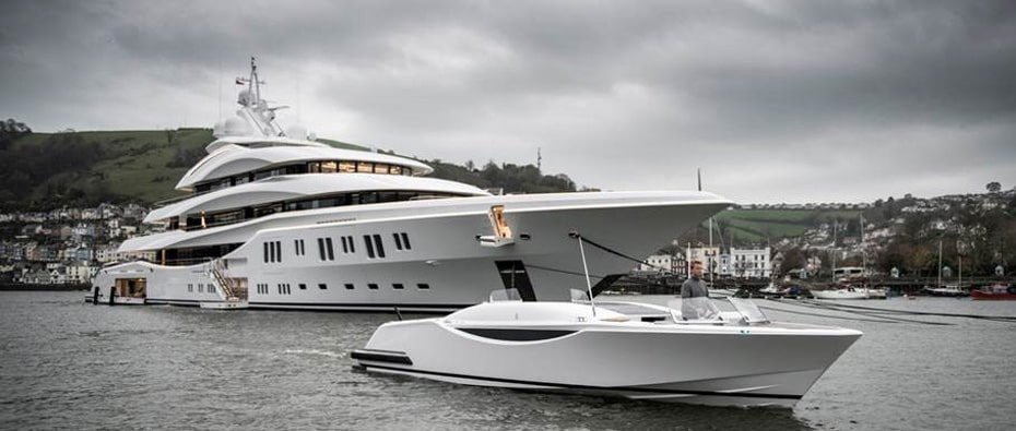 Compass Tenders superyacht and tender