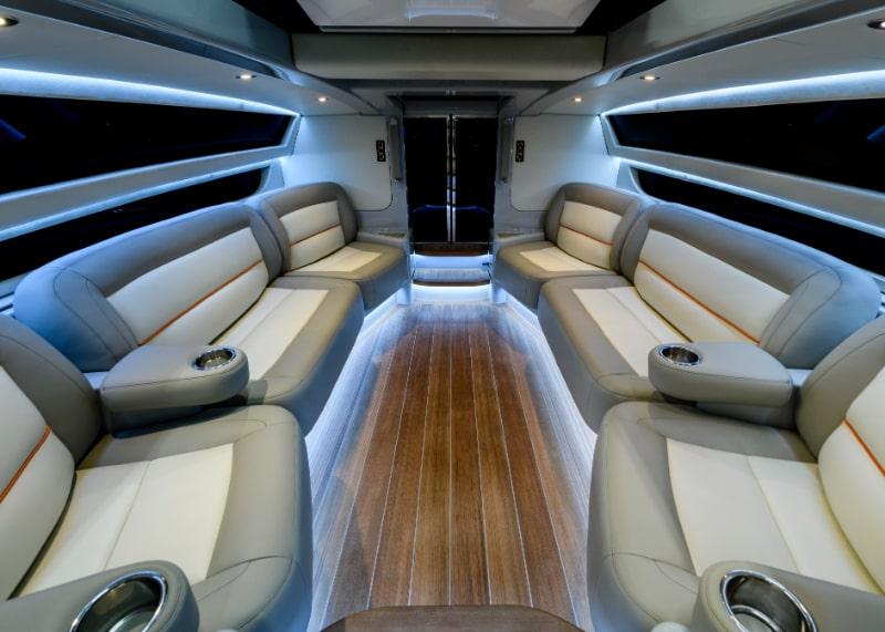Compass Tenders 9m limo tender internal