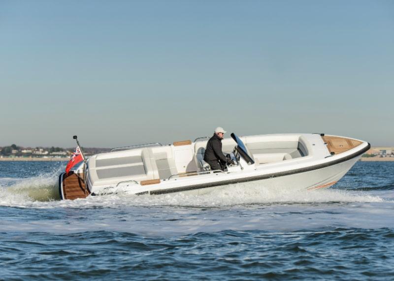 Compass Tenders soaring open tender 7.5m