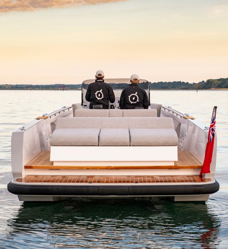 luxury superyacht chaseboat tender