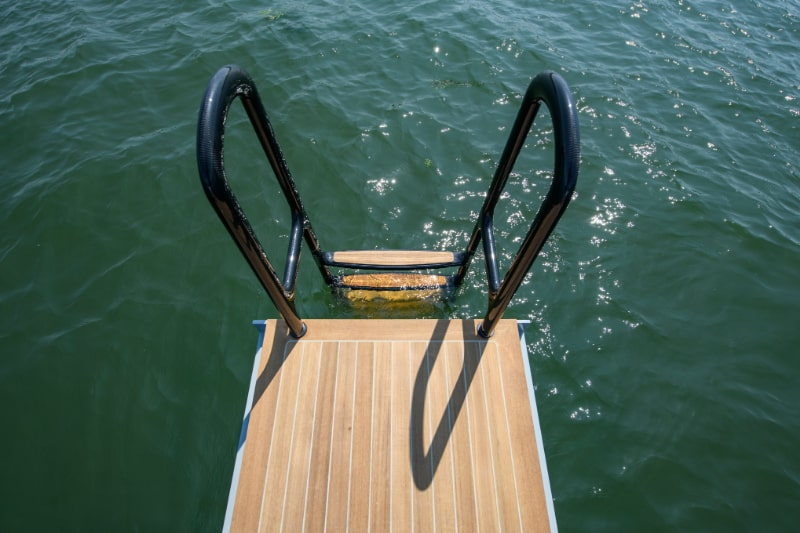 swim platform like a superyacht