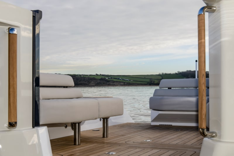 seating aboard a latitude tender