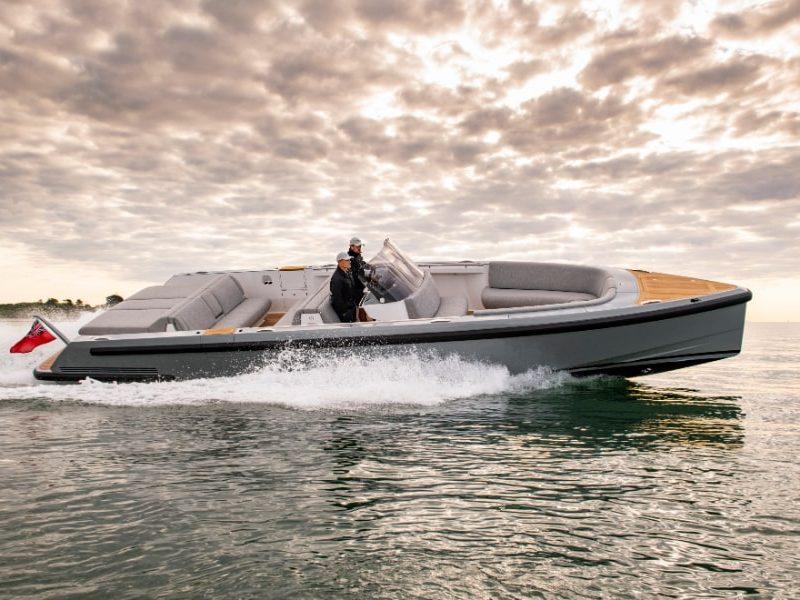 chaseboat tender for superyacht