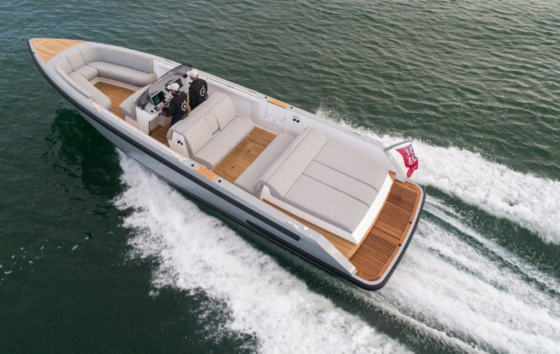 fast chaseboat tender