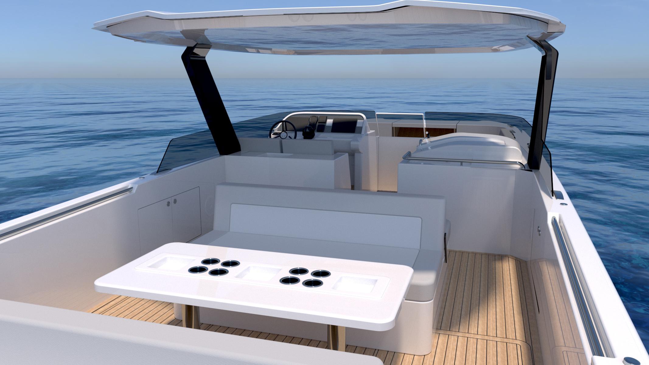 Compass Tenders catamaran