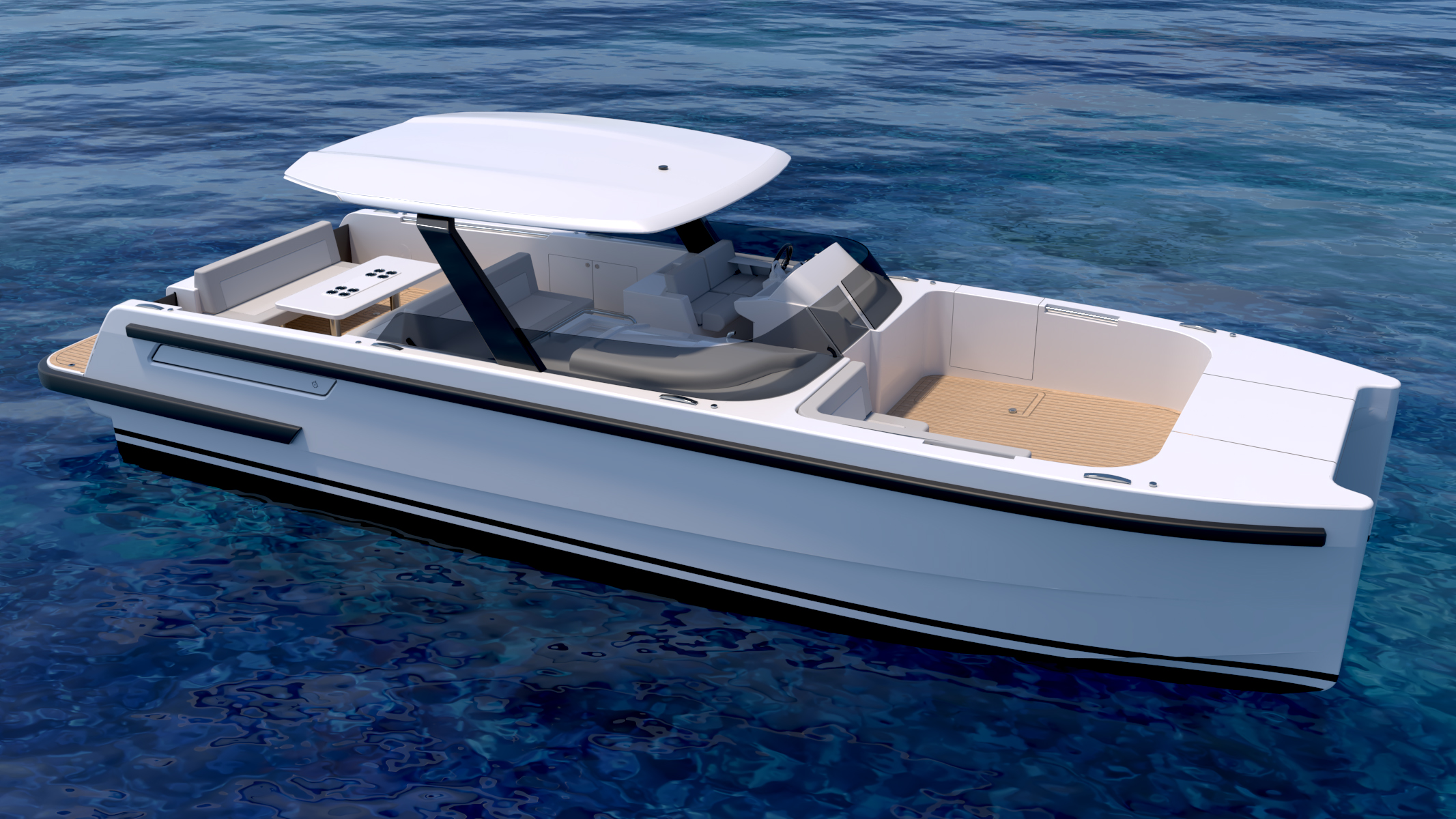 Compass tenders superyacht chaseboat