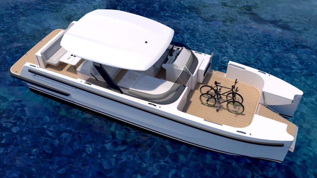 compass multihull or catamaran tender